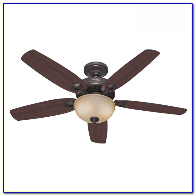 Hunter Bronze Ceiling Fan With Light