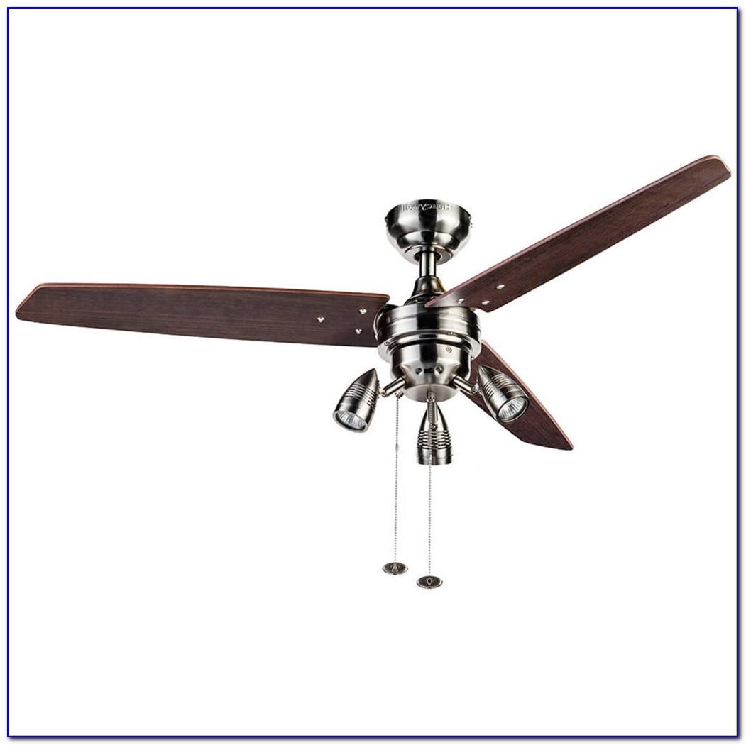 Hunter Flush Mount Ceiling Fan With Light Kit