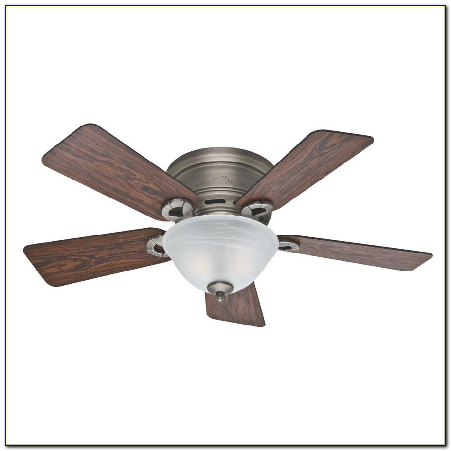 Hunter Flush Mount Ceiling Fans With Lights