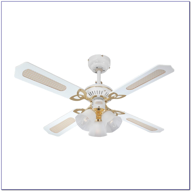 Hunter White Ceiling Fan 44