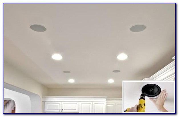 Install Ceiling Speakers First Floor