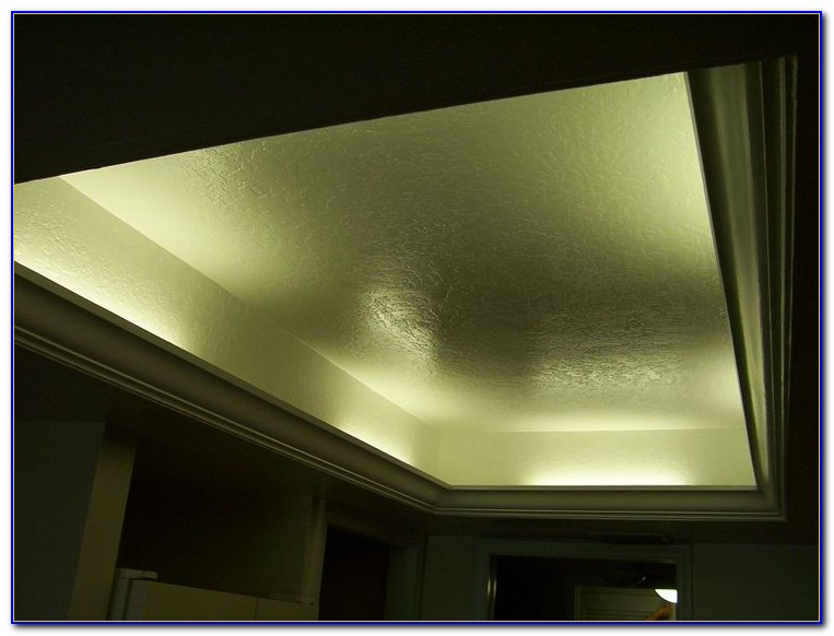 Install Crown Molding Drop Ceiling