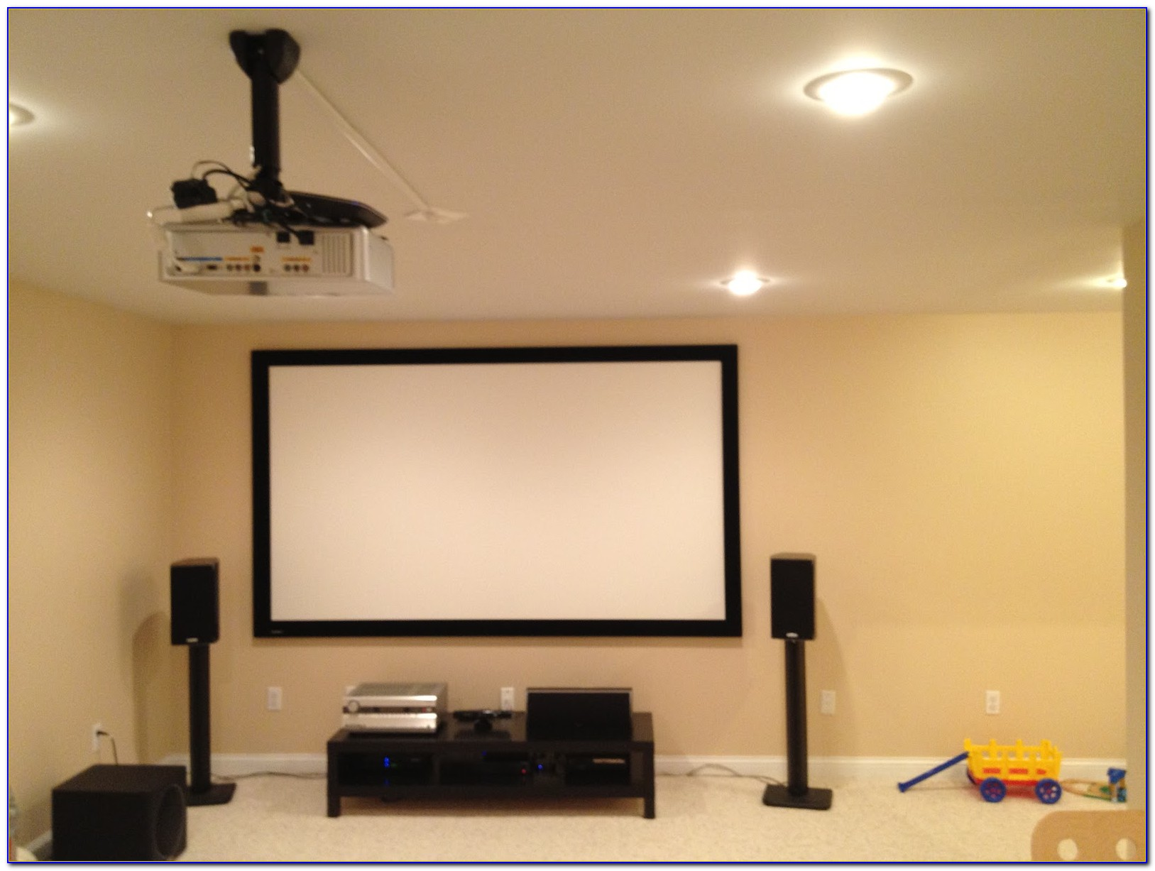 Install Projector Ceiling