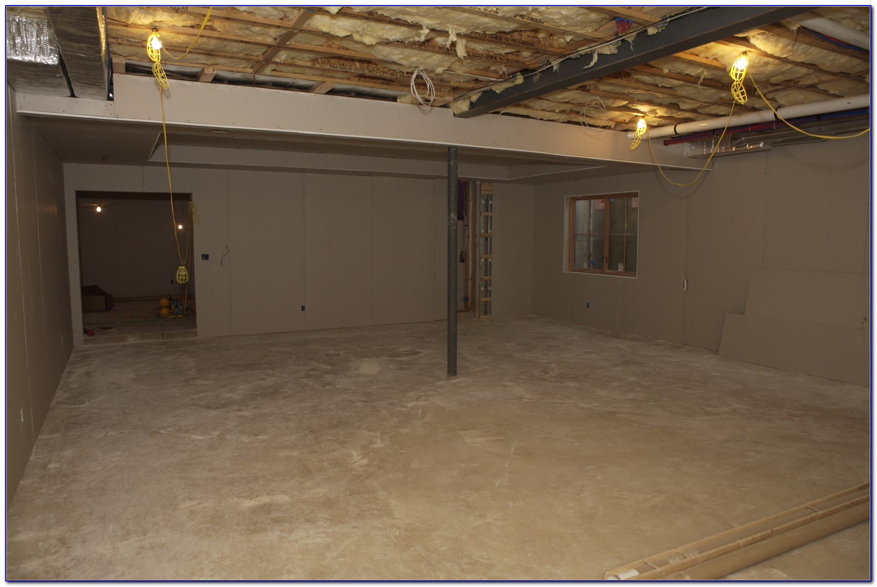 Insulate Crawl Space Ceiling Vapor Barrier
