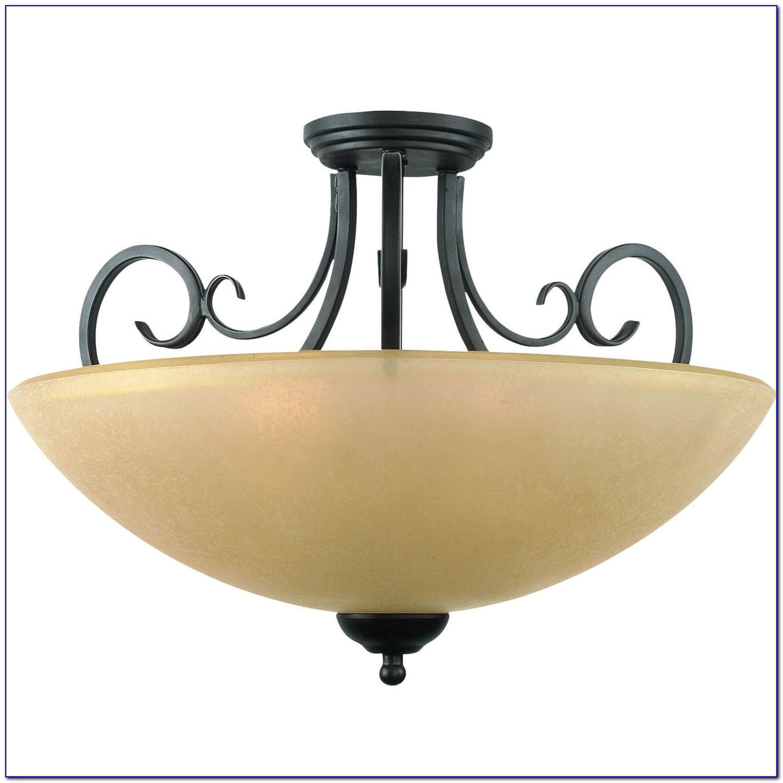 Kichler Lacey 20 Wide Bronze Ceiling Light Fixture