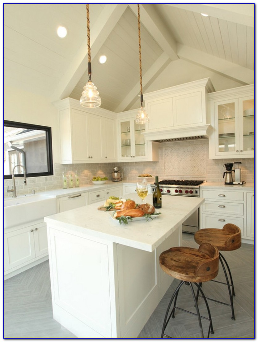 Lighting For Sloped Kitchen Ceiling
