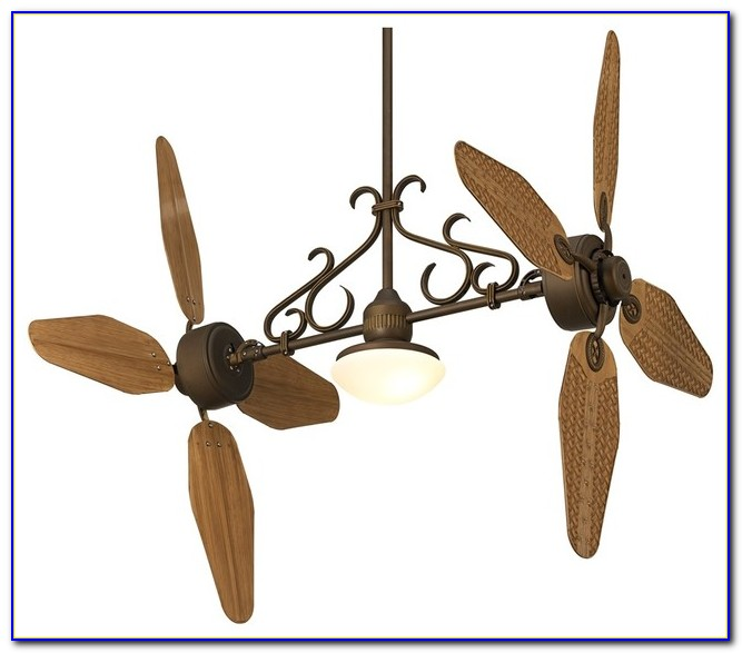 Minka Dual Head Ceiling Fan