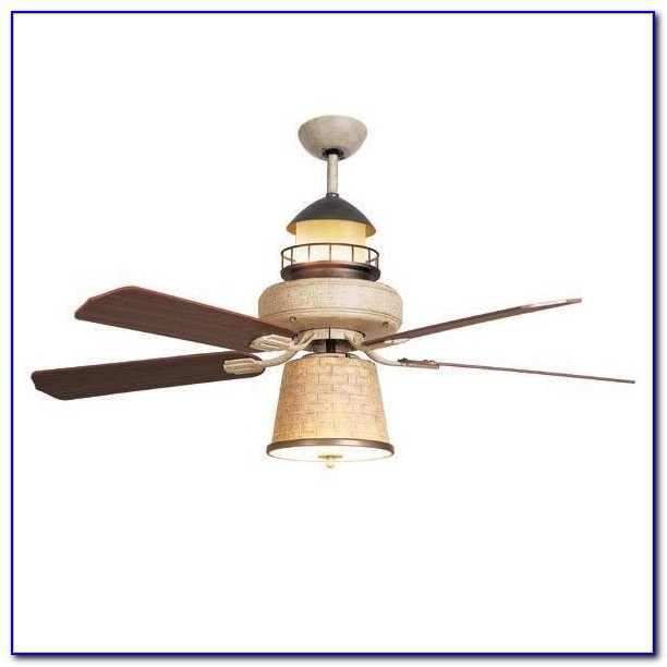Nautical Outdoor Ceiling Fans With Lights