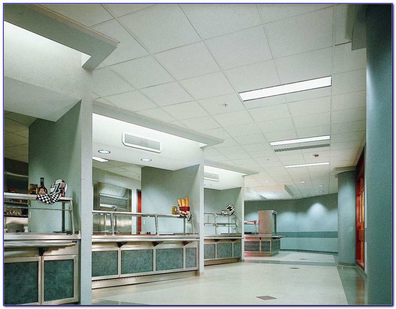 Noise Reduction Coefficient Ceiling Tiles