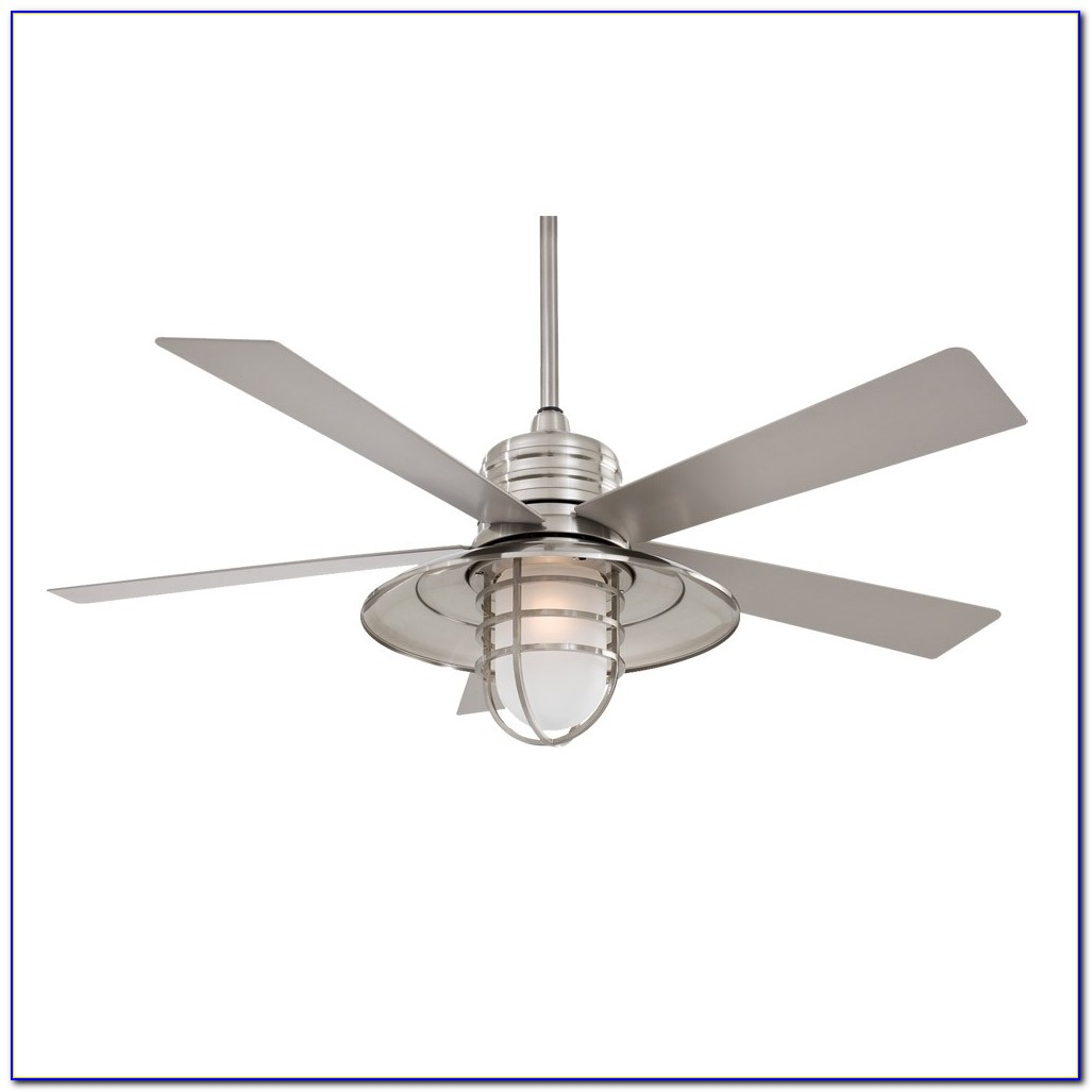 Outdoor Ceiling Fan With Light Wet Rated
