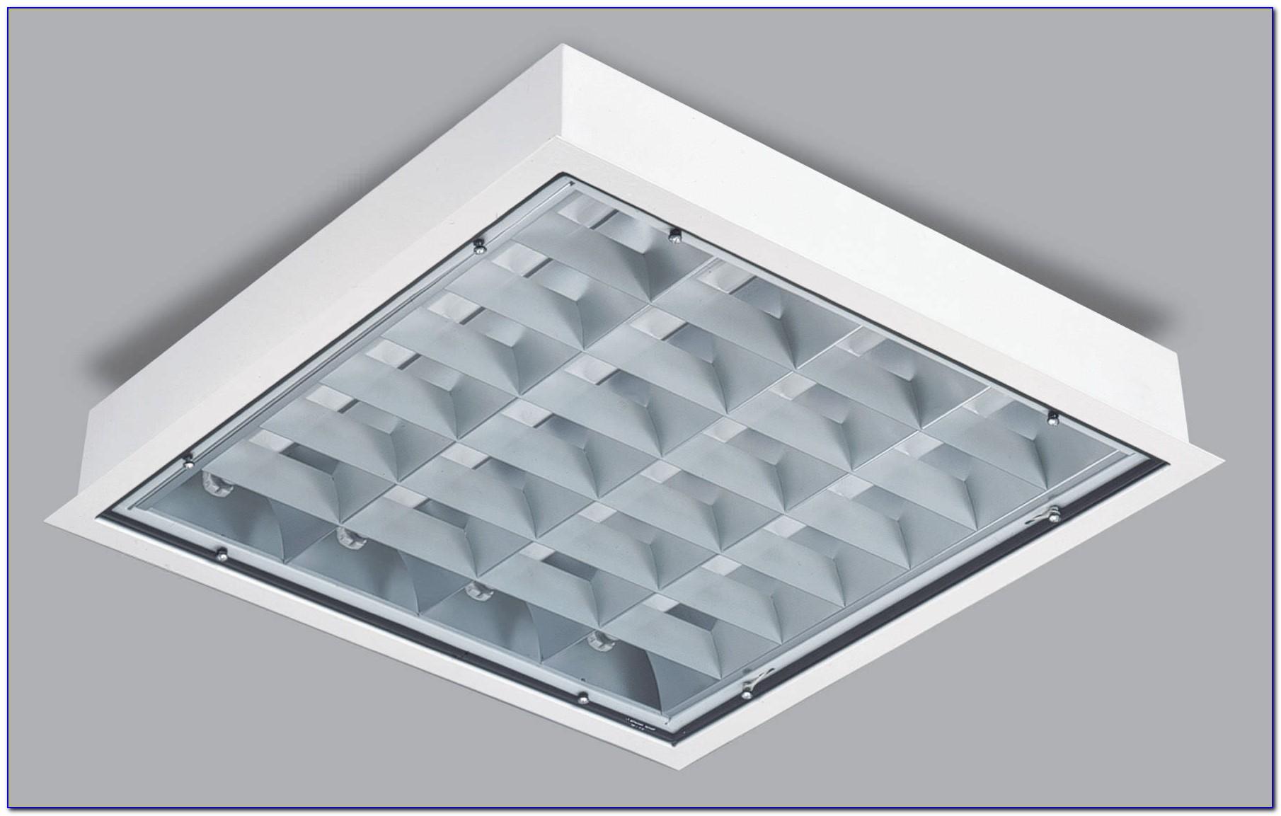 Overhead Fluorescent Light Fixtures