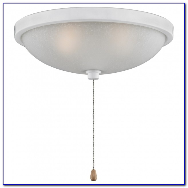 Overhead Light Fixtures With Pull Chain