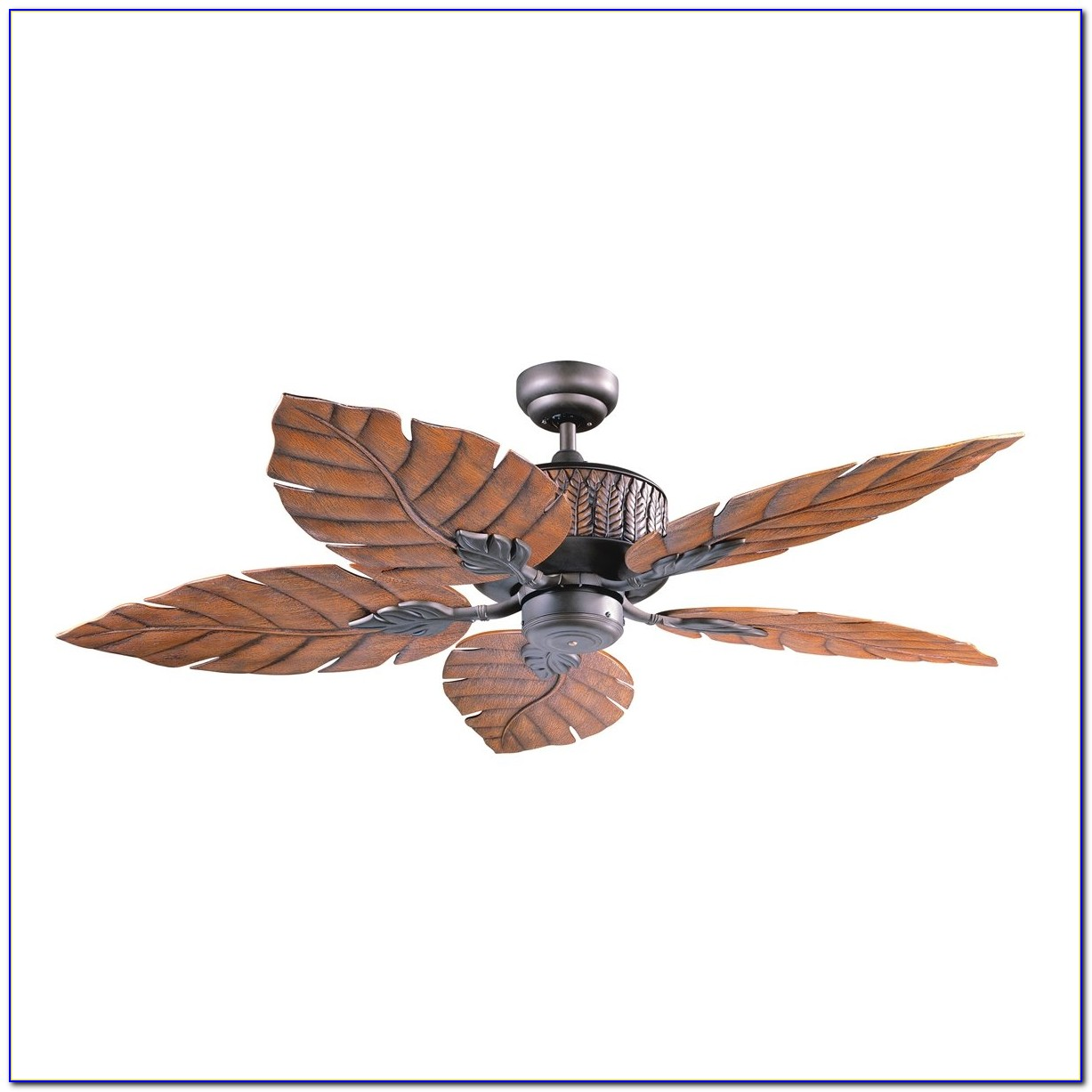 Palm Leaf Blade Ceiling Fans