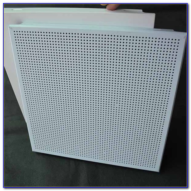 Perforated Metal Acoustic Ceiling Panels
