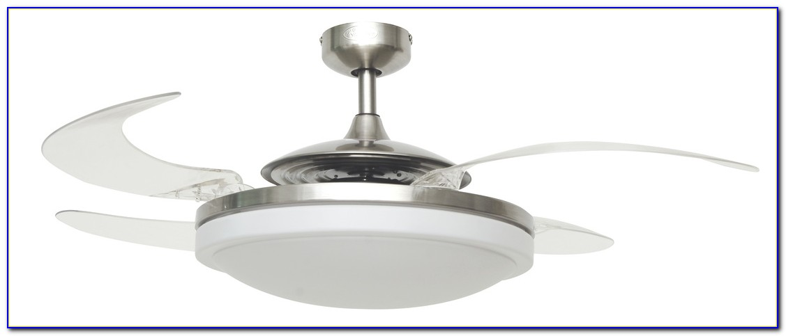 Retractable Blade Ceiling Fan Video