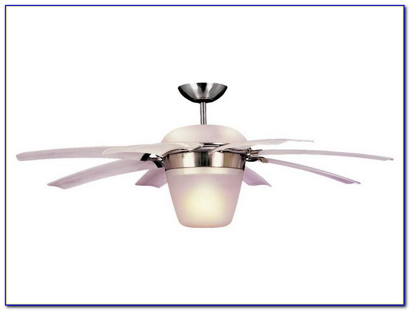 Retractable Blades Ceiling Fan