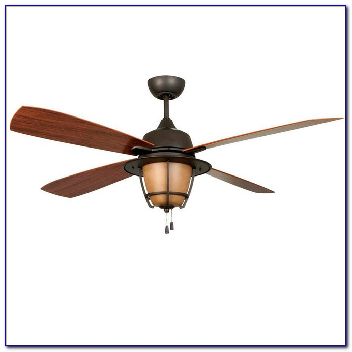 Rustic Lodge Ceiling Fans With Lights