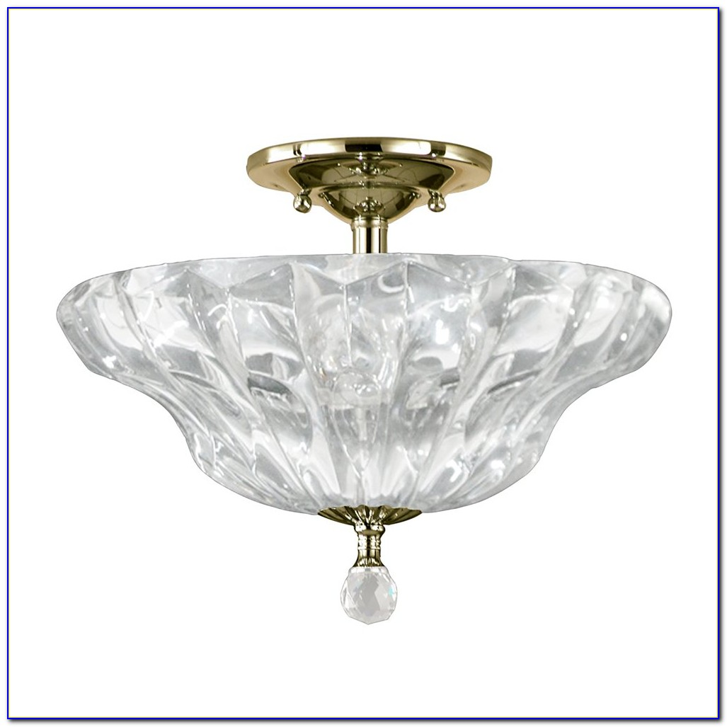 Semi Flush Mount Tiffany Ceiling Lights