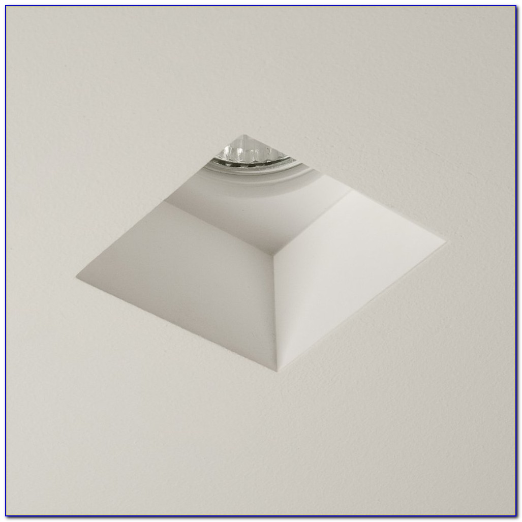 Square Recessed Ceiling Light Fixture