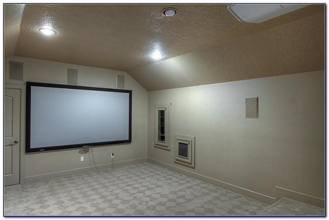 Surround Sound Ceiling Speakers Installation