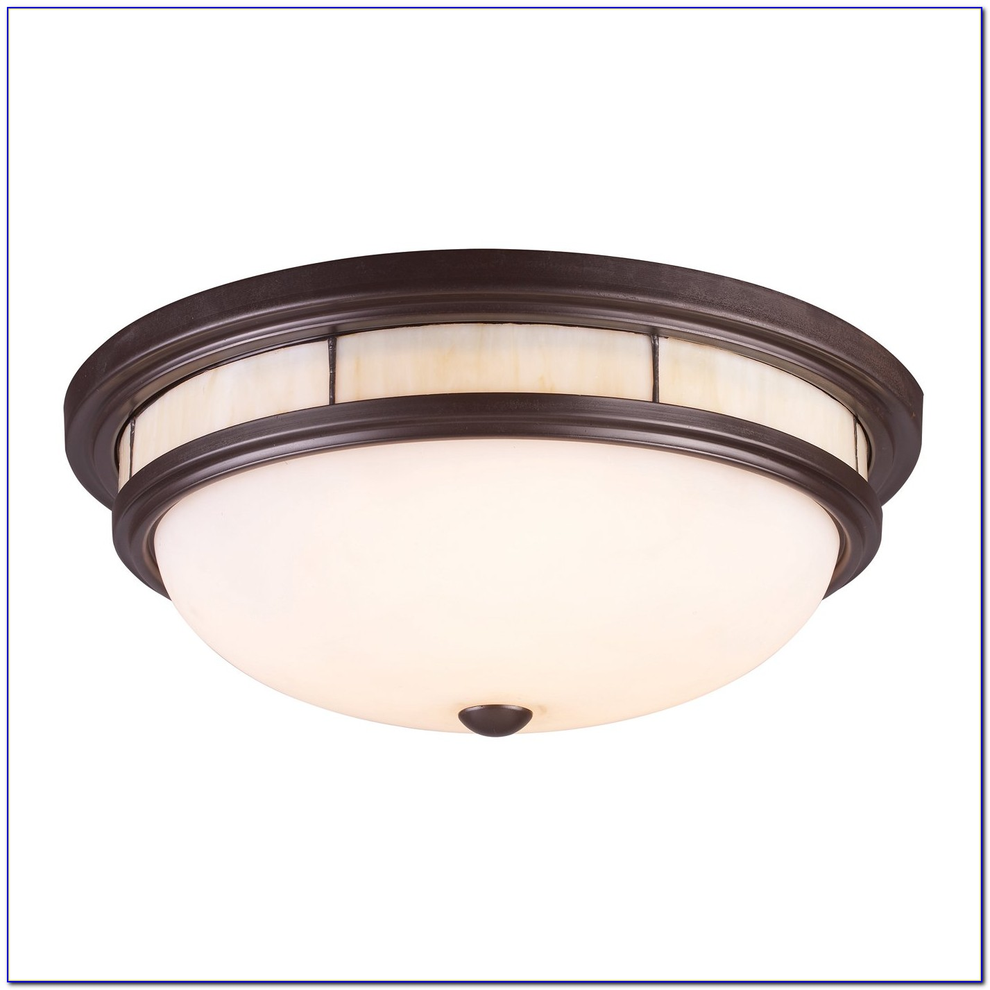 Tiffany Style Semi Flush Ceiling Lights