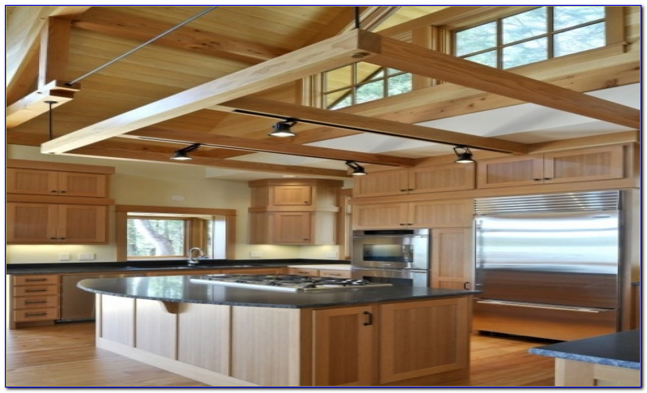 Track Lighting For Vaulted Kitchen Ceiling