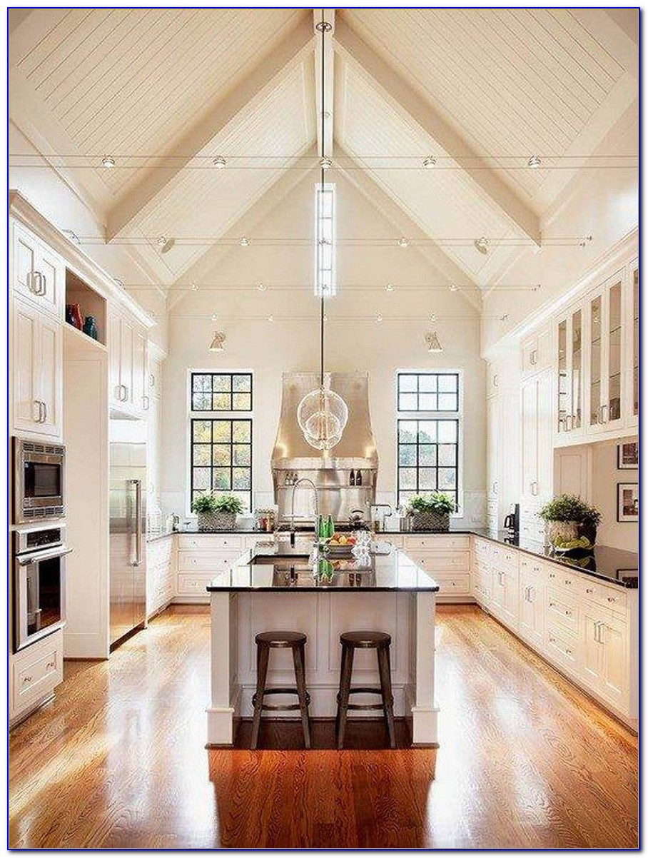 Track Lighting Ideas For Cathedral Ceilings