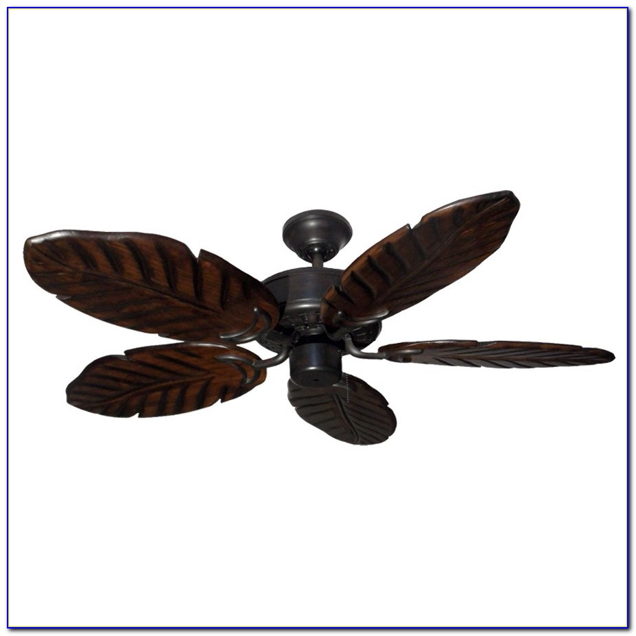 Tropical Ceiling Fan Blades Covers