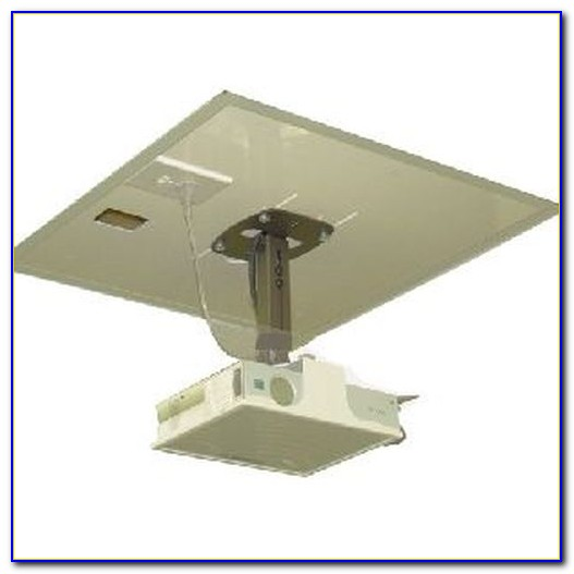 Universal Drop Ceiling Projector Mount