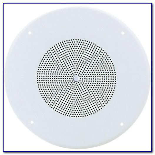 Valcom Ceiling Speaker With Volume Control