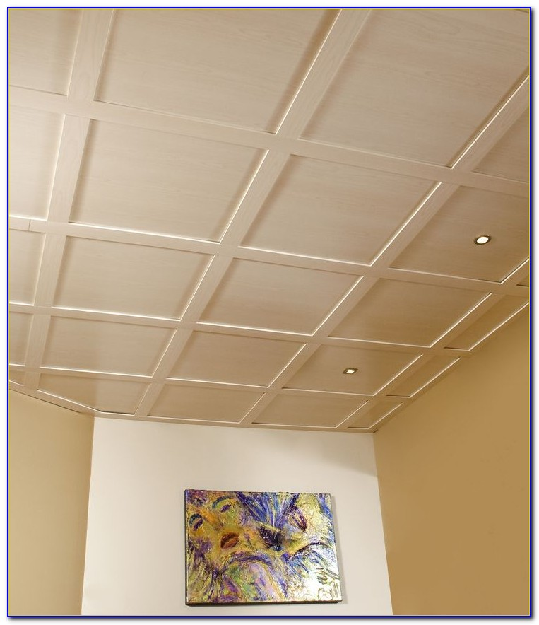 Vinyl Faced Fiberglass Ceiling Tiles