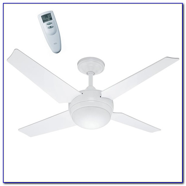 White Hunter Ceiling Fan Light Kit