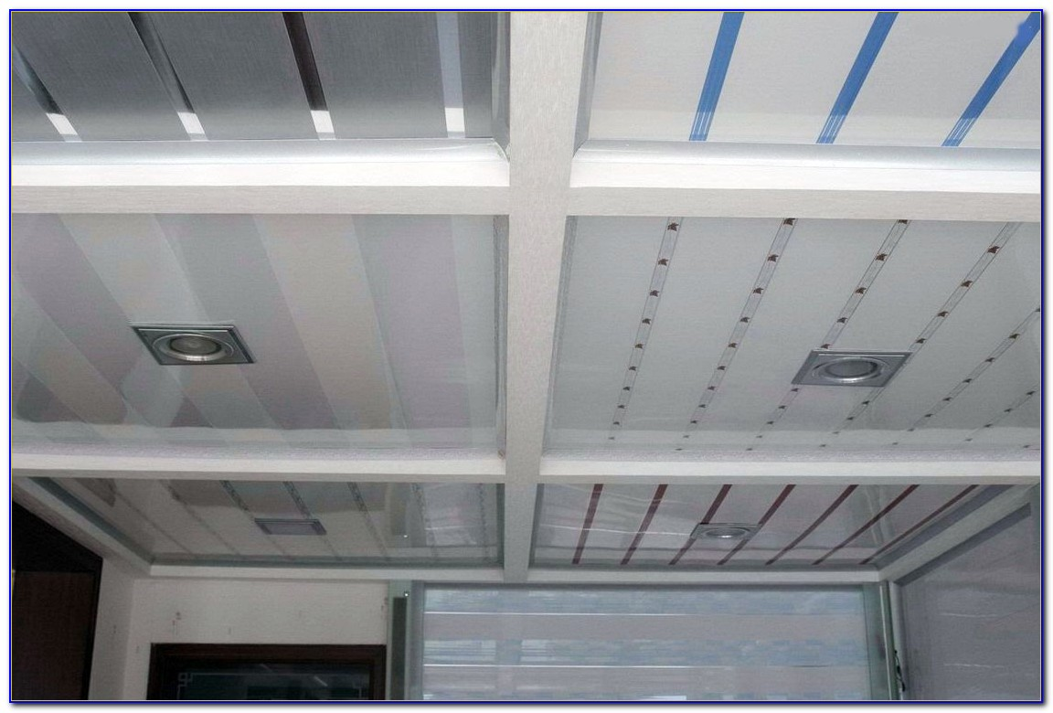 White Tongue And Groove Ceiling Panels