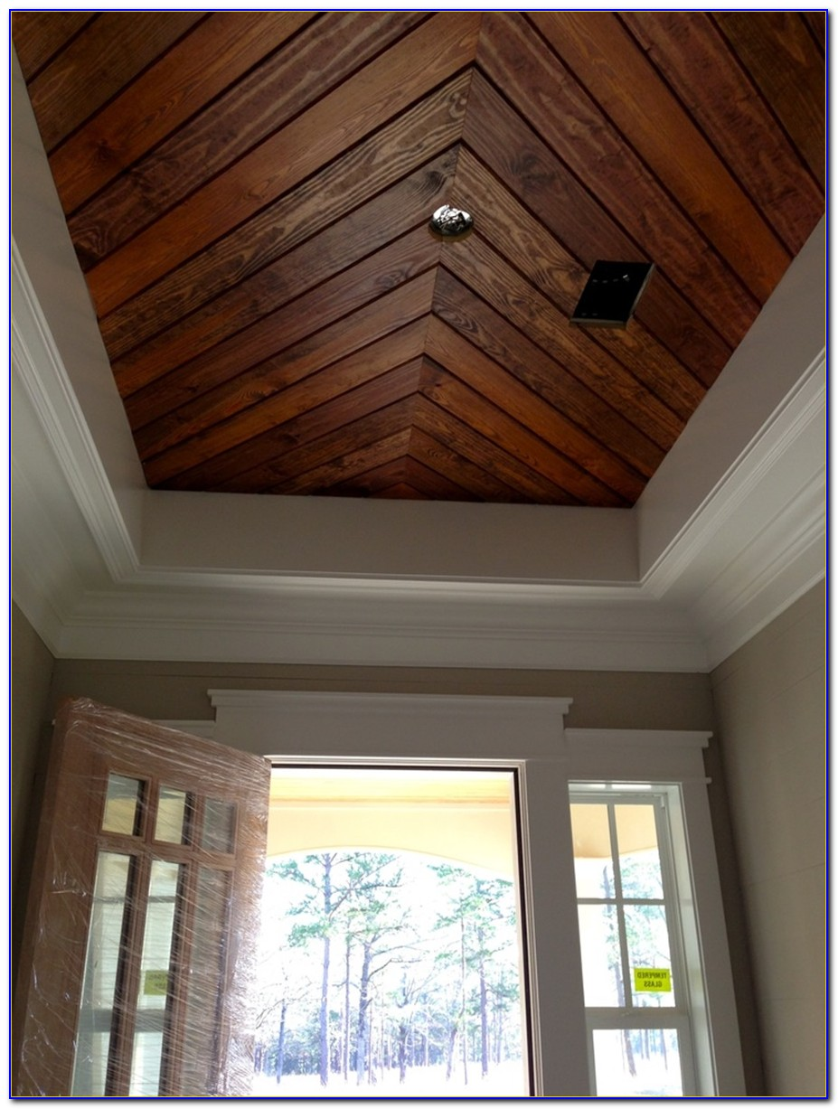 Wood Paneling Ceiling Tongue Groove