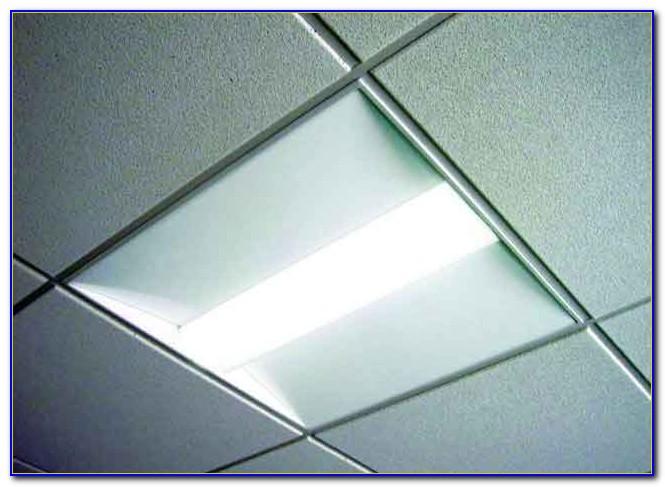2x2' Fluorescent Light Fixture For Drop Ceiling