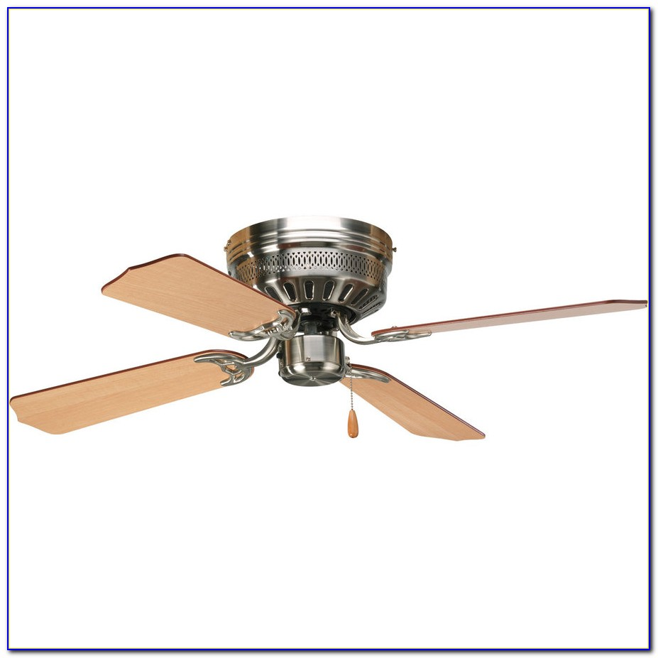 44 Casablanca Isotope Brushed Nickel Hugger Ceiling Fan