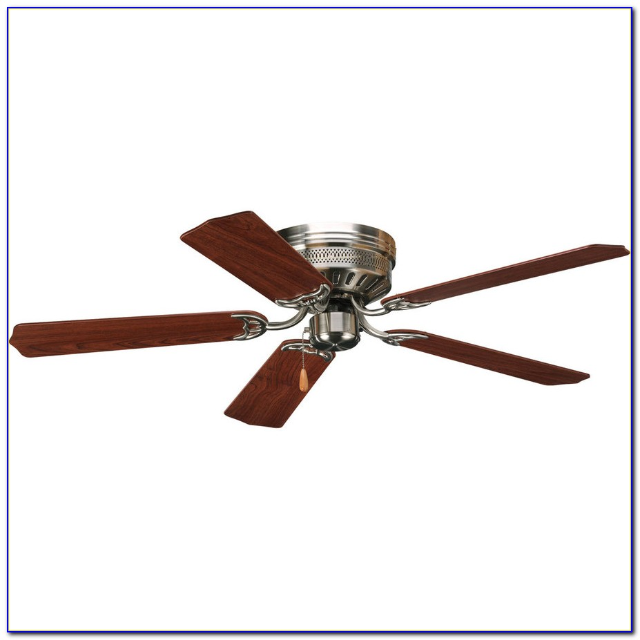 44 Minka Concept Ii Brushed Nickel Hugger Ceiling Fan