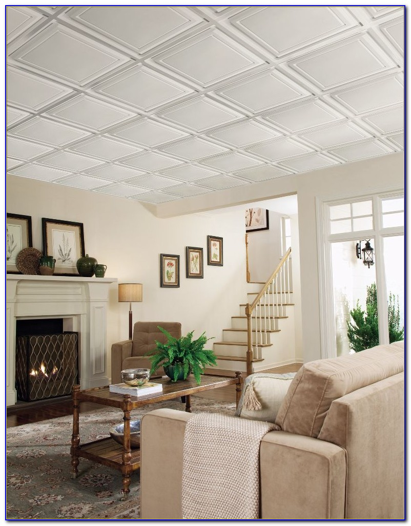 Armstrong Deep Coffered Ceiling Tiles