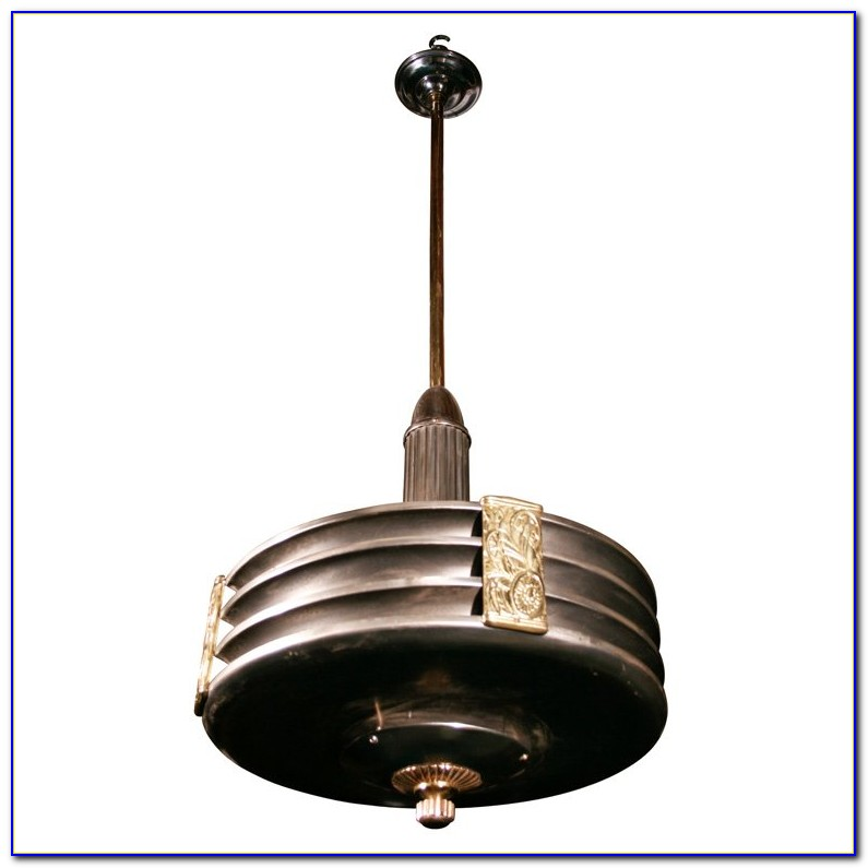 Art Deco Ceiling Light Ebay