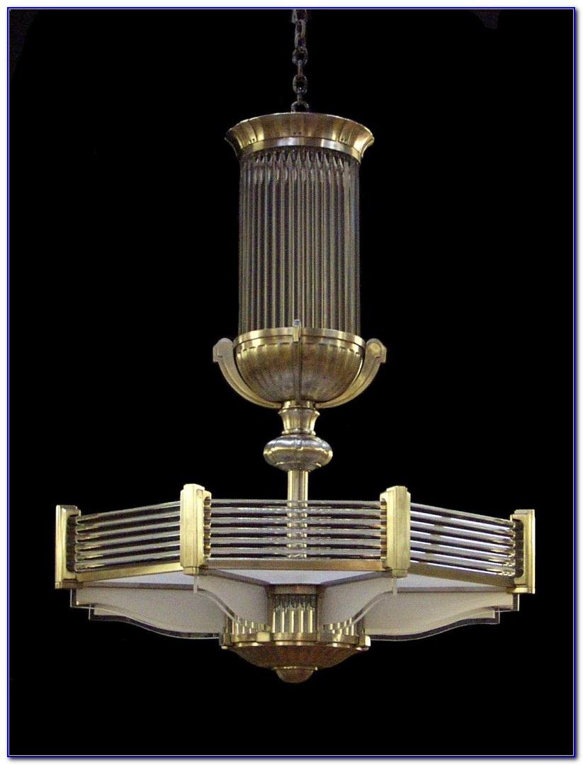 Art Deco Ceiling Light Fittings