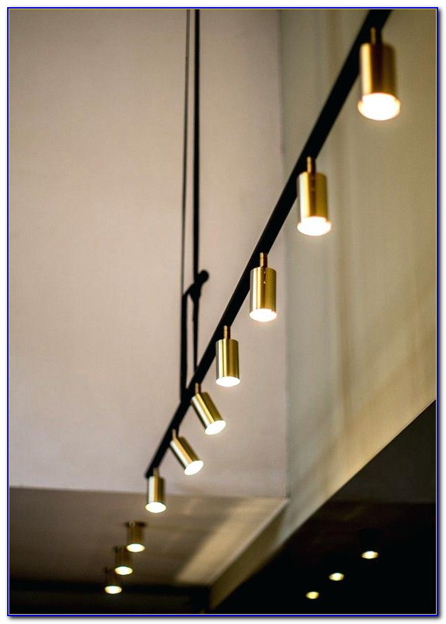 Attaching Track Lighting To Drop Ceiling