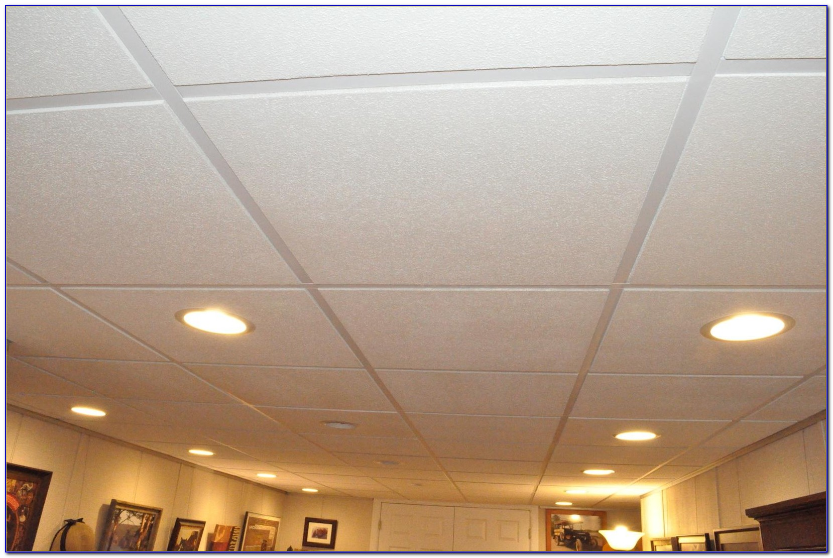 Best Drop Ceiling Tiles For Basement