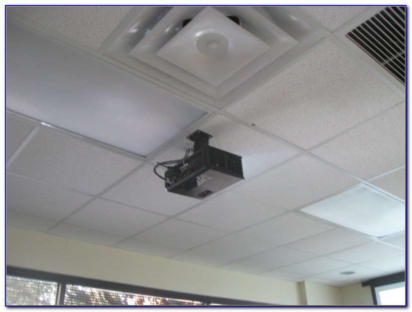 Best Way To Hang Projector Screen From Ceiling
