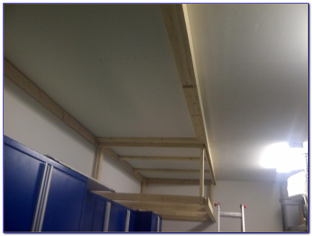 Best Way To Hang Shelves From Garage Ceiling