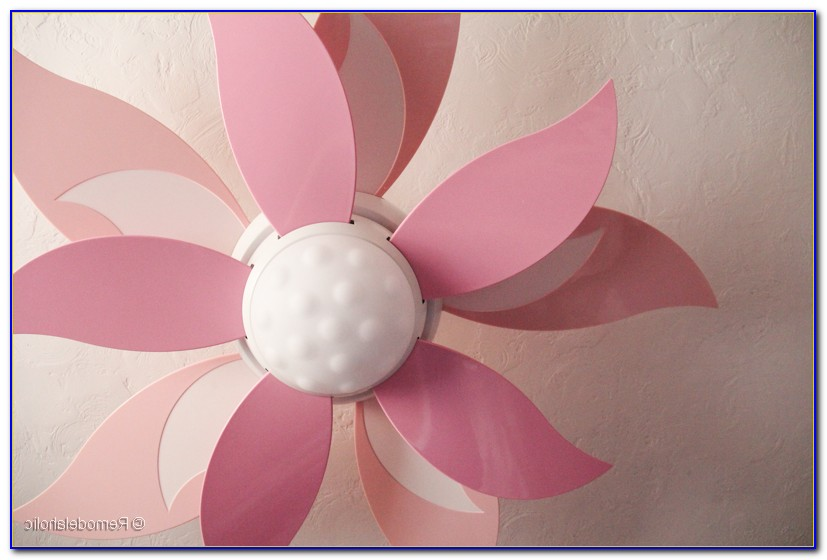 Blooming Flower Ceiling Fan