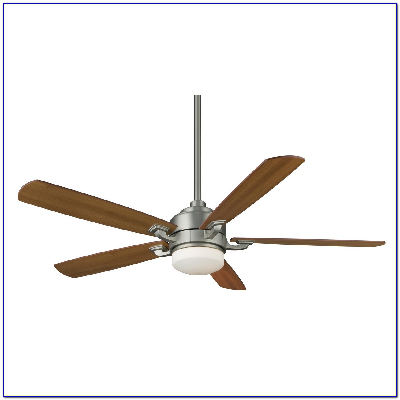 Brushed Nickel Ceiling Fans With Silver Blades