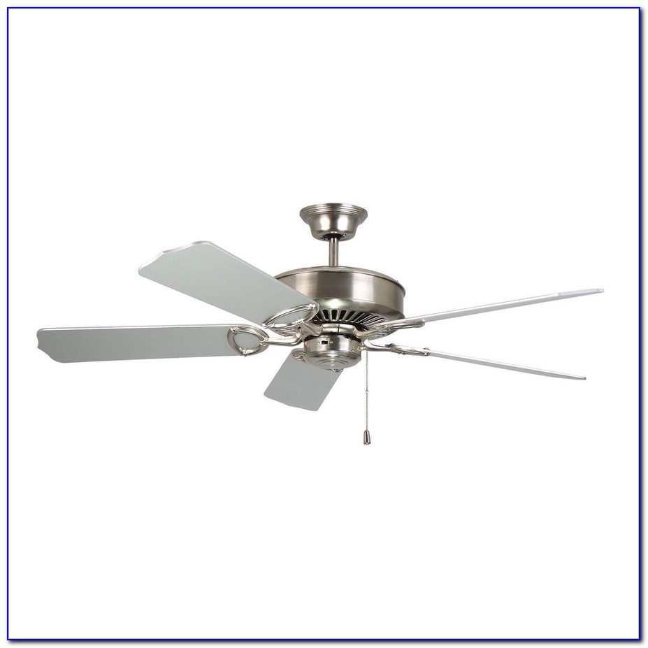 Brushed Nickel Ceiling Fans Without Light