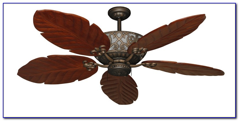 Casa Vieja Tropical Leaf Ceiling Fan