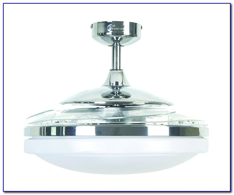 Ceiling Fan With Retractable Blades Video
