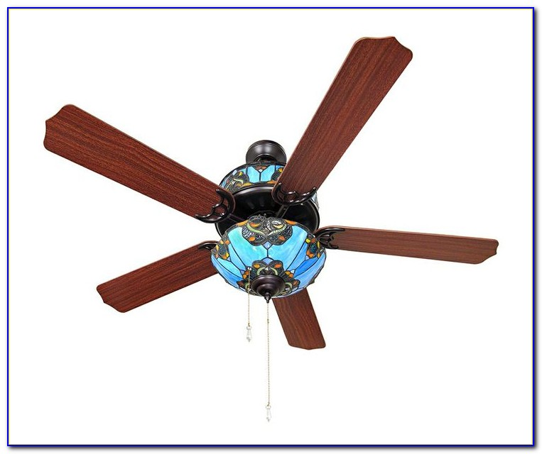 Ceiling Fans With Stained Glass Lights